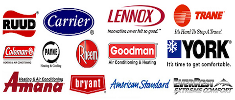 furnace repair Pittsburgh PA brands we work with